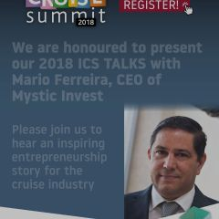 We are honoured to present our 2018 ICS talks with Mario Ferreira, CEO of Mystic Invest
