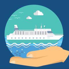 La industria de cruceros se compromete a reducir las emisiones globales de carbono en un 40% para 2030