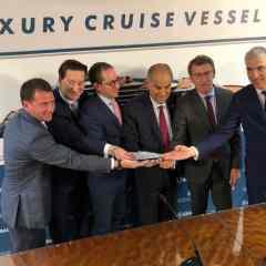 The Ritz-Carlton Yatch Collection confirma el pedido de un segundo yate de cruceros de lujo a los astilleros Barreras de Vigo