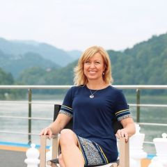 Ejecutivas de la industria: entrevista con Kristin Karst, Executive Vice President and co-owner of AmaWaterways