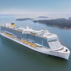 Costa Cruceros presenta el Costa Smeralda a sus socios estratégicos