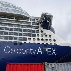 Celebrity Cruises presenta su segúndo barco de la icónica clase Edge, el Celebrity Apex