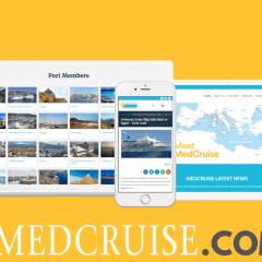 MedCruise presenta su nueva página web