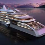 X-Expedition Cruise, a new-generation exploration ship with superyacht luxury and style, cruise ship modular construction and Wártsila hybrid propulsion