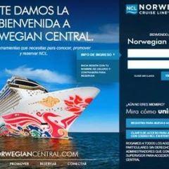 """""""Norwegian Central"""", la nueva plataforma de Norwegian Cruise Line para dar a apoyo a los agentes de viaje"""