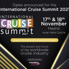 Dates announced for the International Cruise Summit 2021