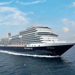 Holland America Line recibe de Fincantieri el nuevo crucero Rotterdam