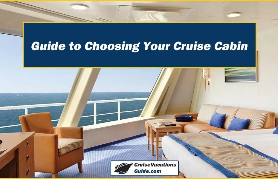 choosing your cruise cabin