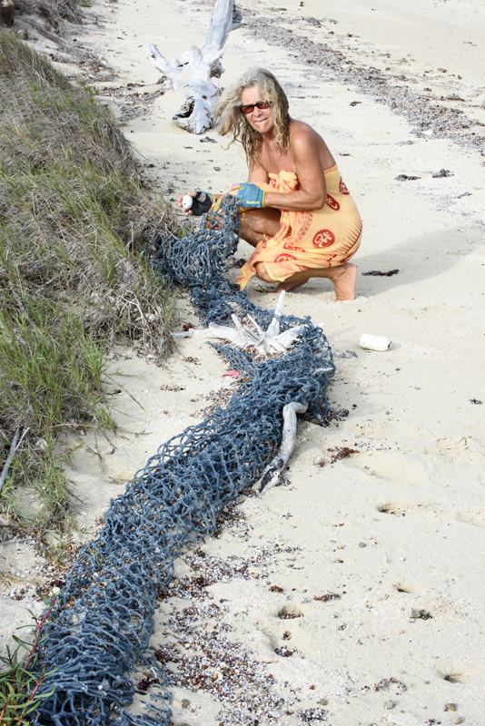 fish nets on Fyfe island