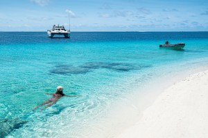 Ham Reef sand cay