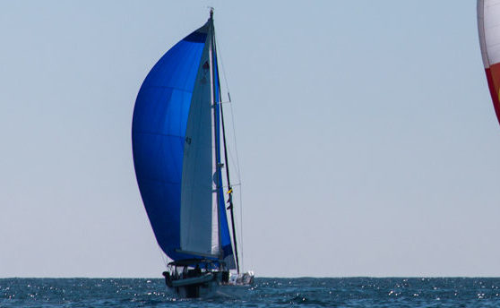Asymmetric Blue Spinnaker