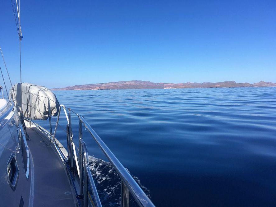 Enroute to Isla Danzante