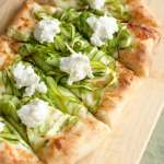 Rites of Spring: Shaved Asparagus Pizza