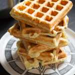 Say Cheese: Savoury Herbed Ricotta Waffles