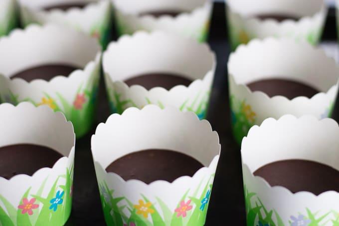 Flourless Ricotta Cupcakes with Chocolate Coconut Cream