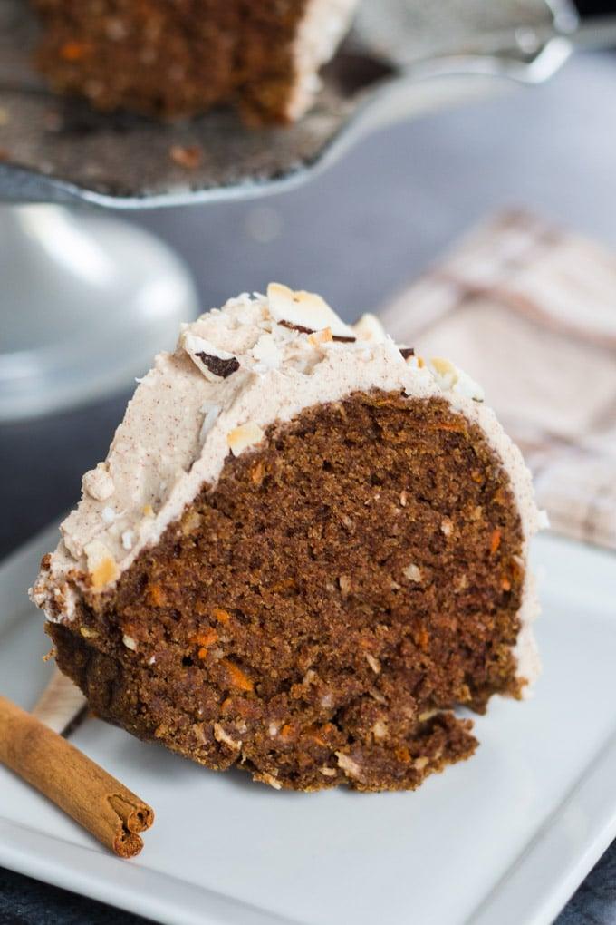 Coconut Carrot Bundt Cake