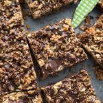 Chocolate Chai Spice Crumble Bars
