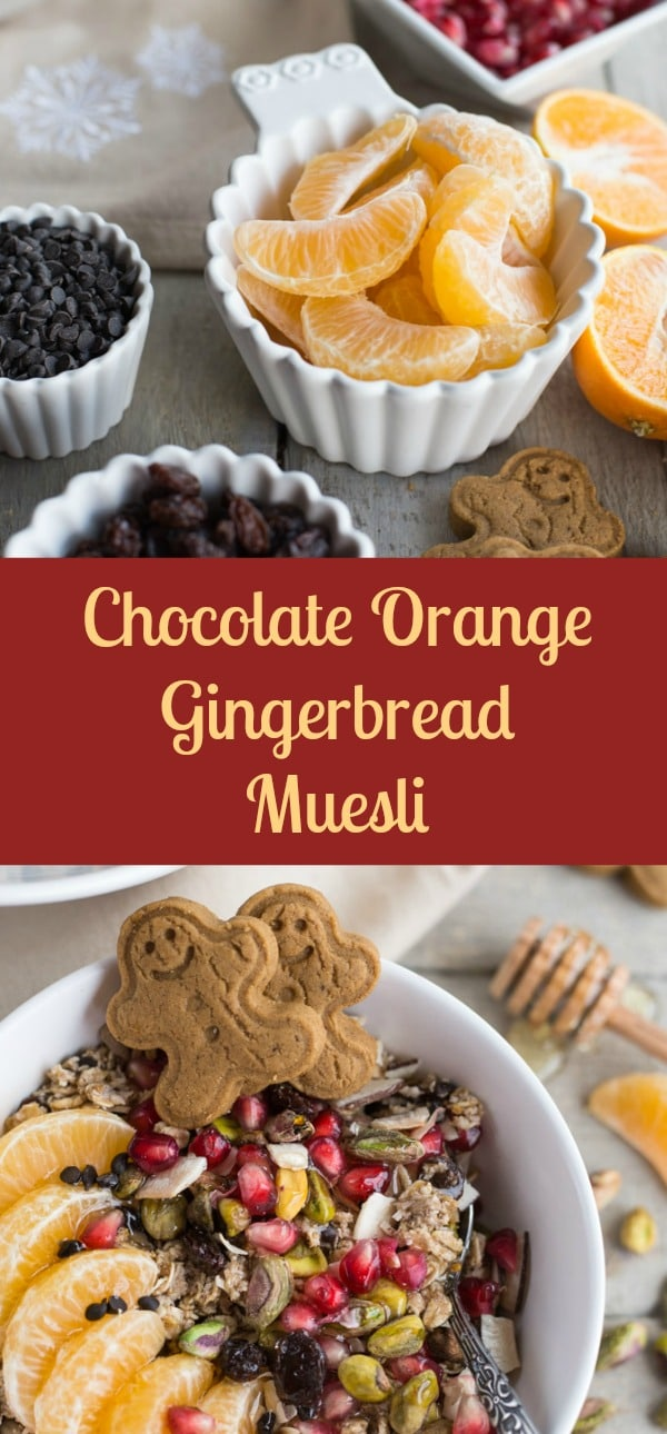 Chocolate Orange Gingerbread Muesli