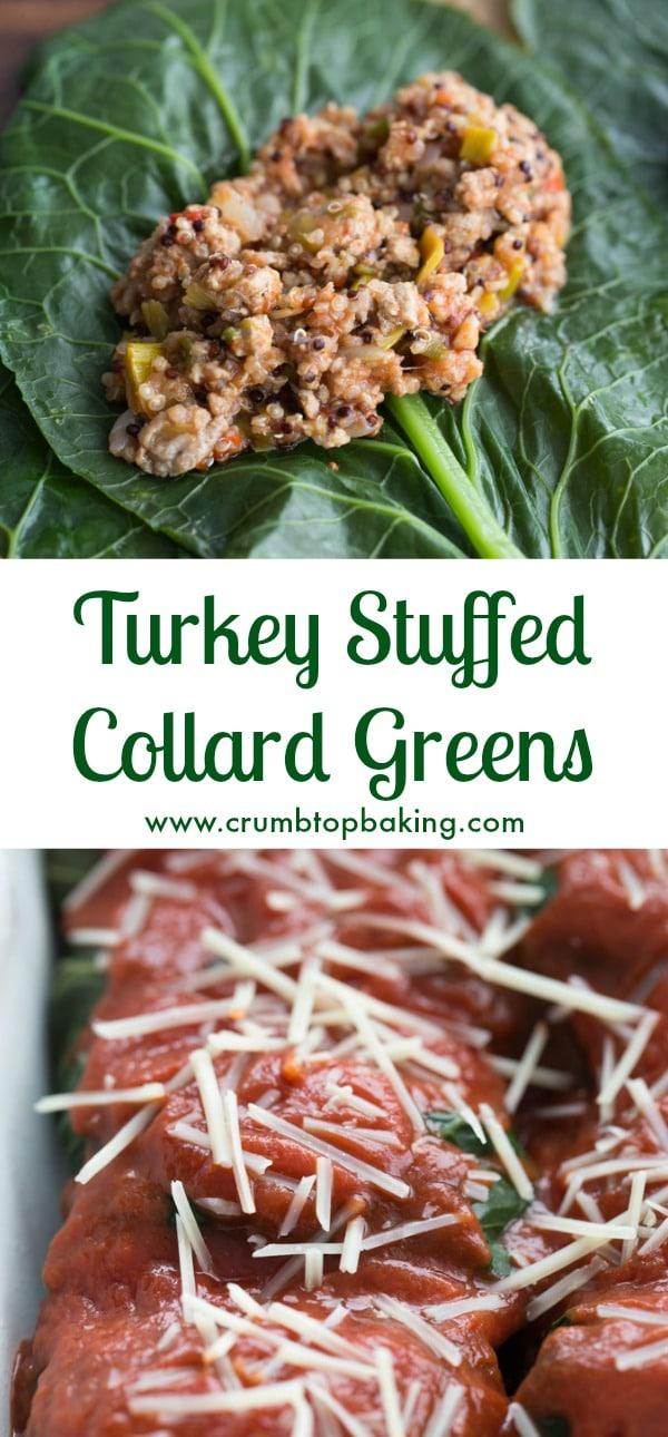Turkey Stuffed Collard Greens