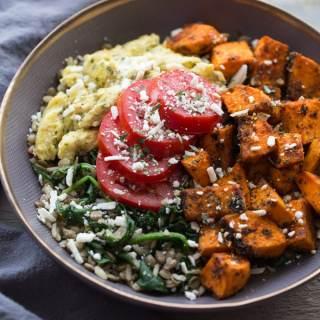Spicy Sweet Potato Breakfast Bowls