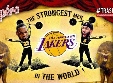 Finales NBA : les Lakers en route vers le Sweep Apéro TrashTalk 4 octobre 2020