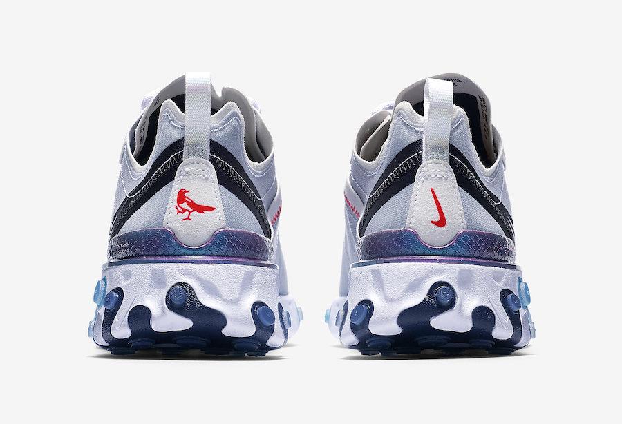 Nike React Element 55 Magpie - Crumpe