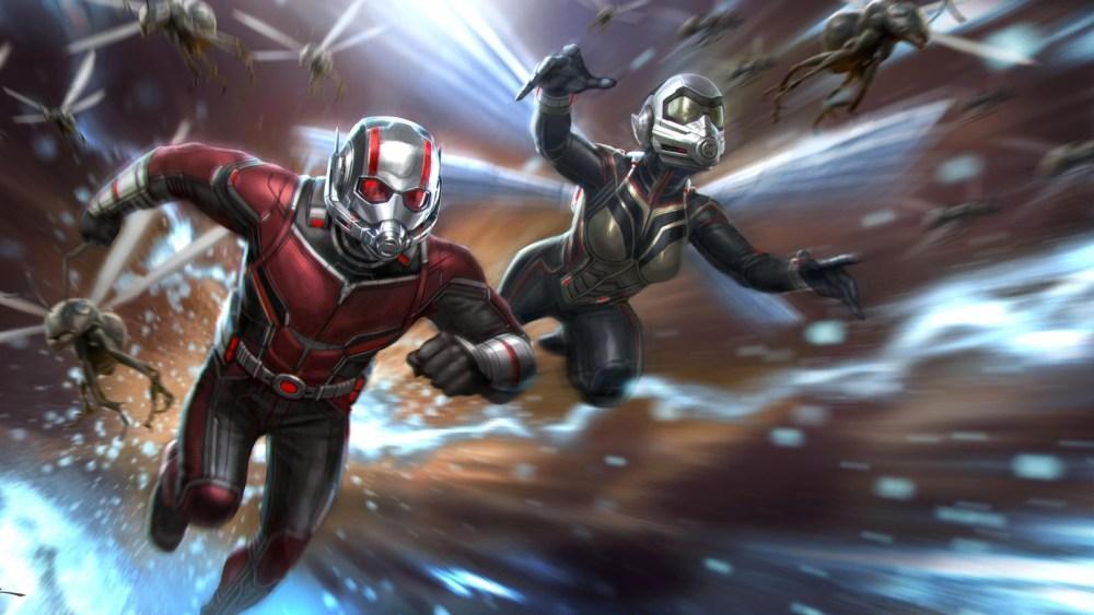 Ant-man et la guêpe Concept art