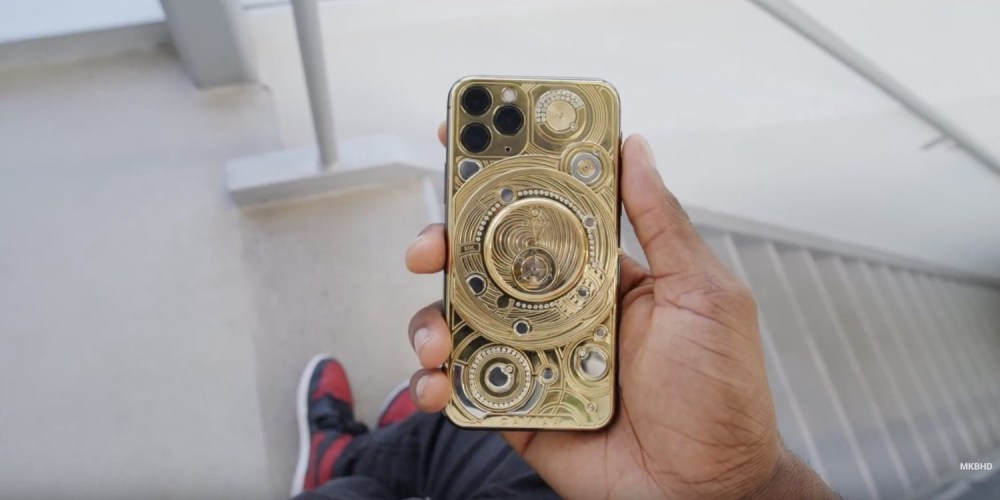100K $ d'or et de diamant iPhone 11