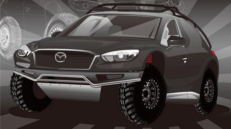 Des étudiants japonais transforment le Mazda CX-5 en tout-terrain prêt pour le Dakar
