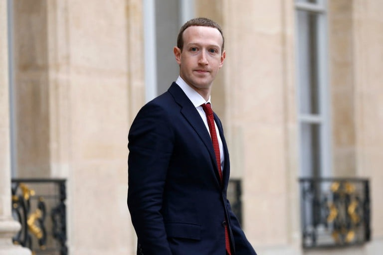 president macron rencontre facebook