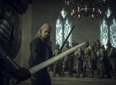 The Witcher capture d'écran Netflix
