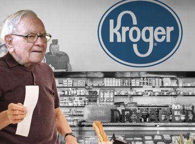 Warren Buffett bucks Wall Street avec le choix d'actions Kroger