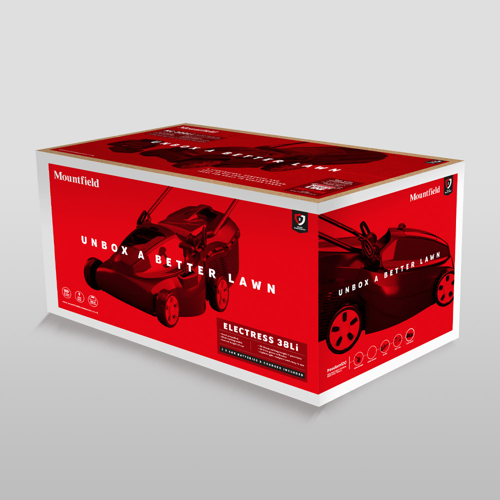 Mountfield Packaging Design