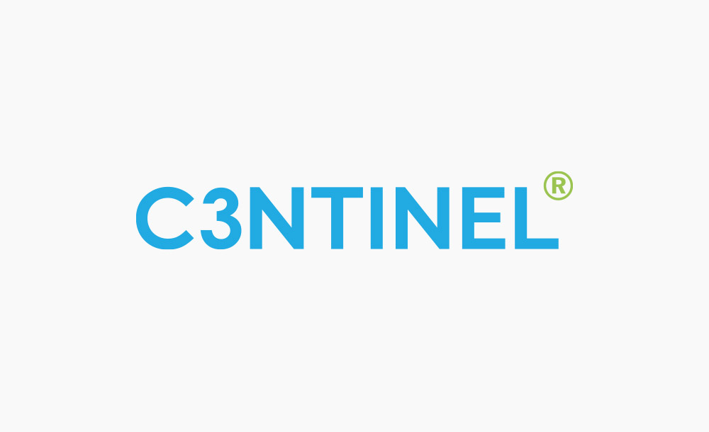c3ntinel logo design