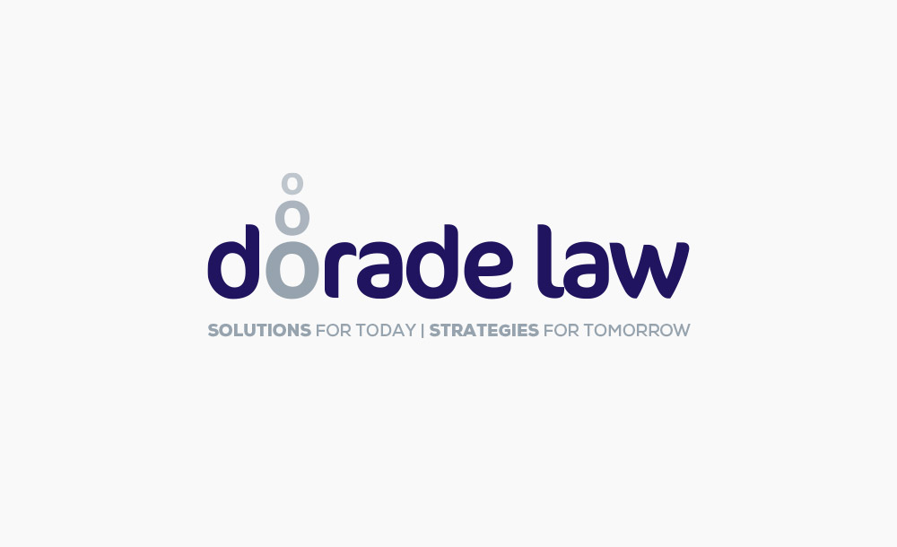 Dorade Law logo design