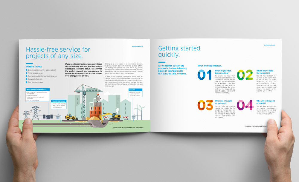 Engie Services Brochure Design