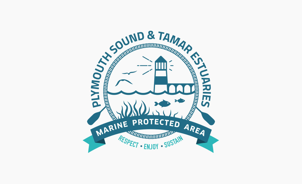 Plymouth Sound & Tamar Estuaries MPA logo design
