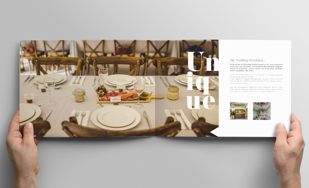 Port Eliot brochure design