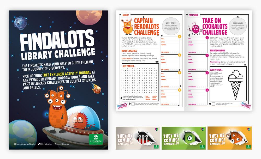 Findalots Challenge Campaign design