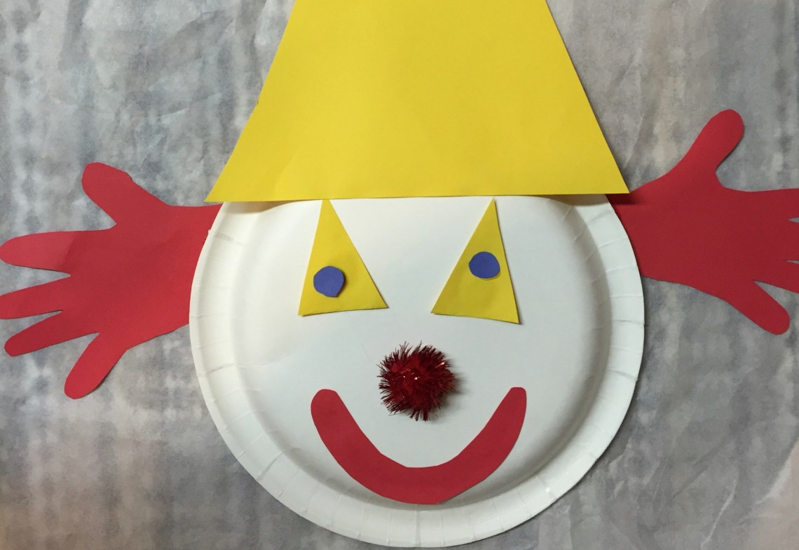 toddler clown craft