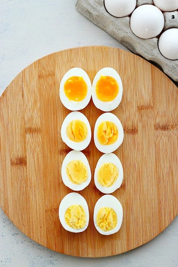 how to boil eggs crunchy creamy sweet