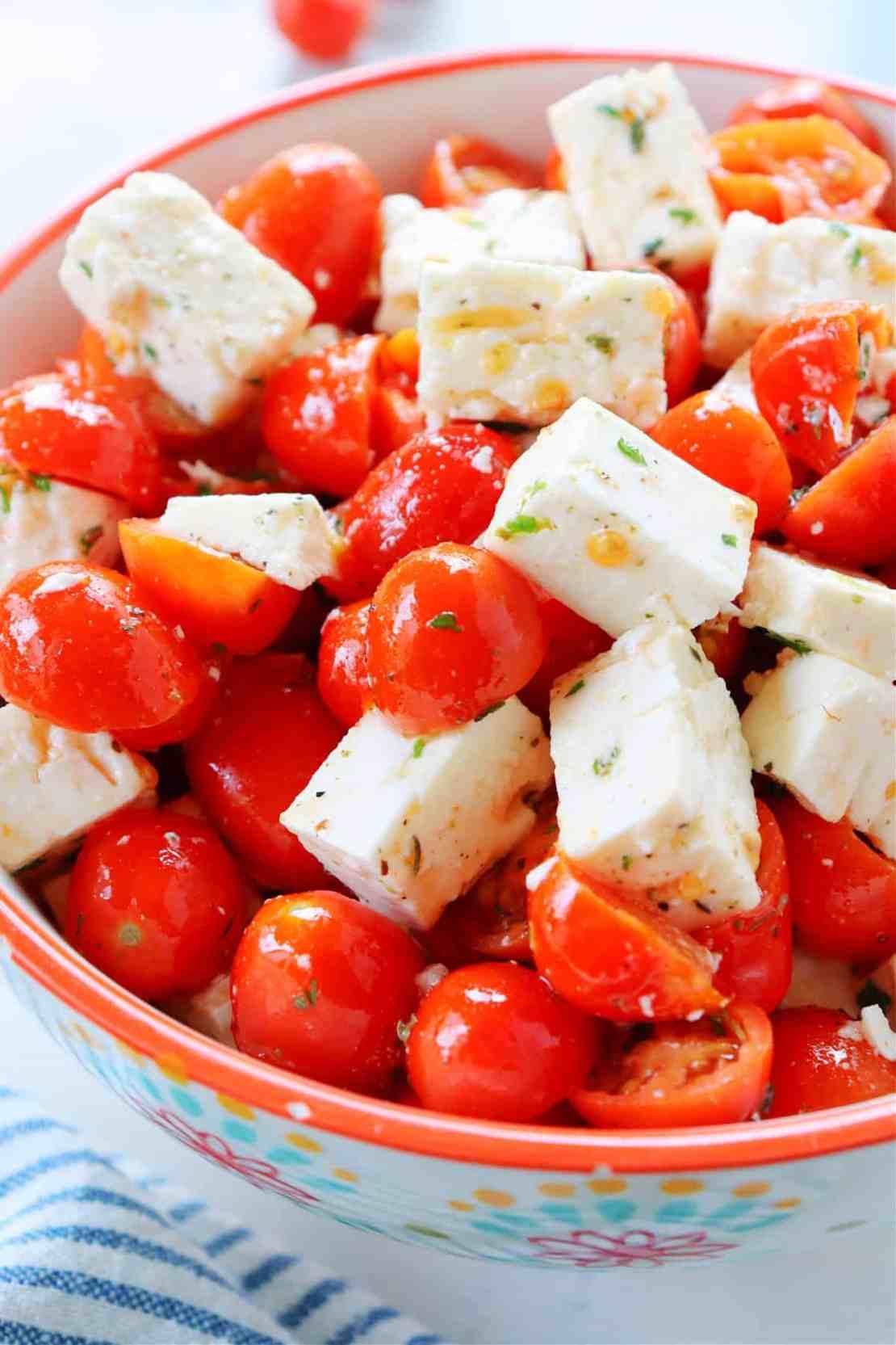 tomato feta salad 2 Tomato Feta Salad