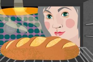 Making Bread | CrunchyTales | Stefania Tomasich