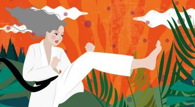 Illustration About Martial Arts For Midlife Women
