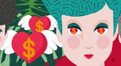 Relationships And Money | CrunchyTales | Stefania Tomasich Illustration