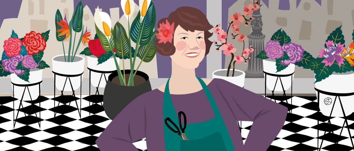 "Florist Ursula Stone: ""Blooming For Good In My 50s"""