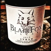 Yep, a little @blairfoxcellars is my glass tonight!