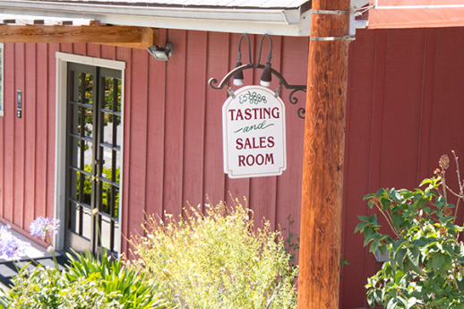 Beckmen Vineyard Tasting room
