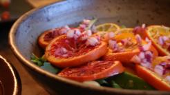 Arugula Salad with Roasted Citrus and Avocado