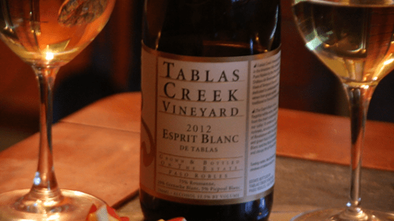 Tablas Creek, Esprit Blanc 2012
